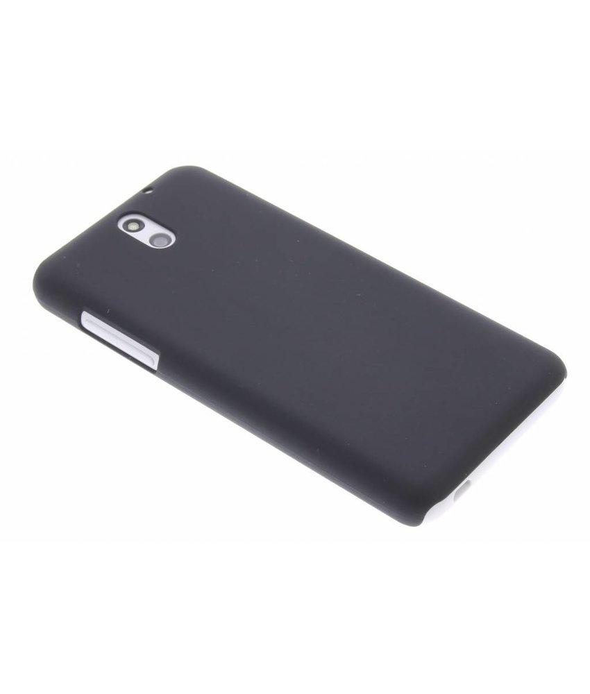 Zwart effen hardcase hoesje HTC Desire 610
