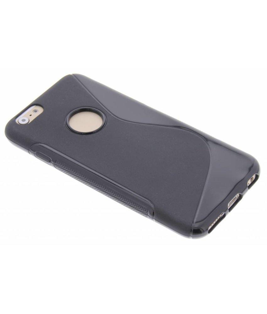 Zwart S-line TPU hoesje iPhone 6 / 6s