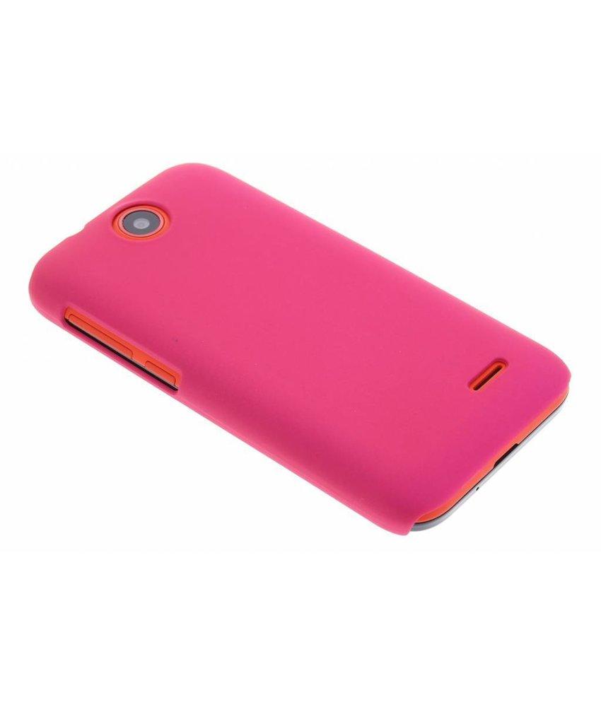Fuchsia effen hardcase HTC Desire 310