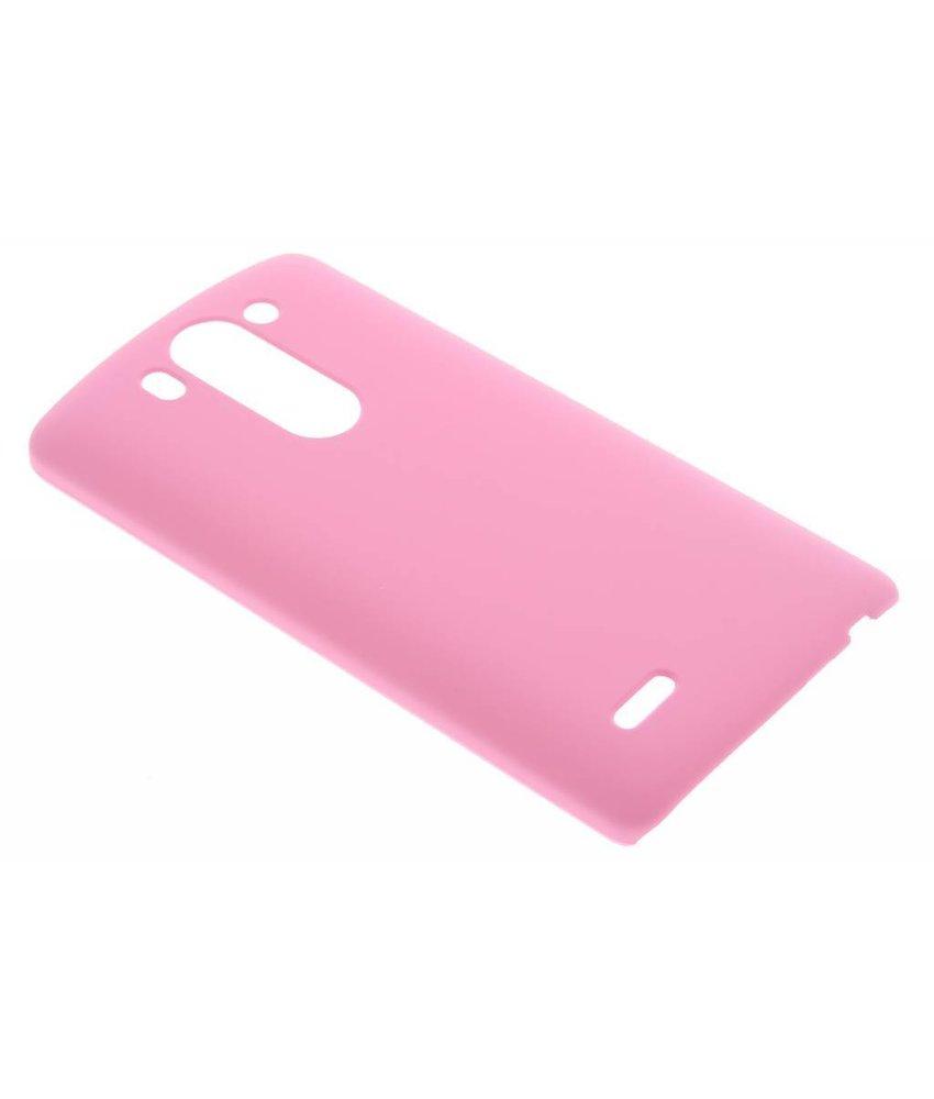 Roze effen hardcase hoesje LG G3 S