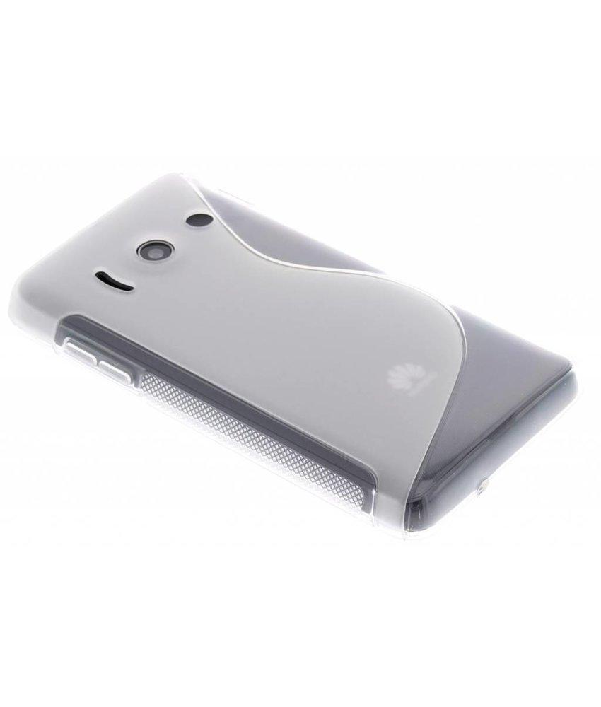 Transparant S-Line TPU hoesje Huawei Ascend Y300