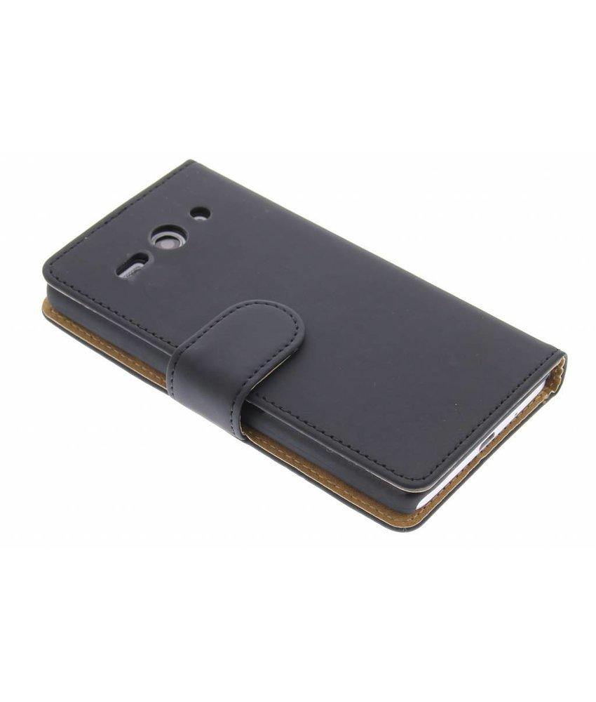 Zwart effen booktype Huawei Ascend Y530