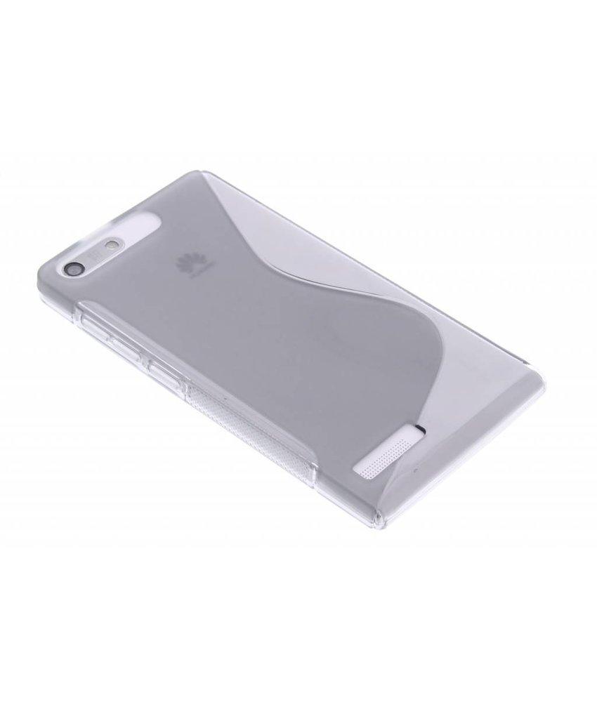 Grijs S-line TPU hoesje Huawei Ascend G6