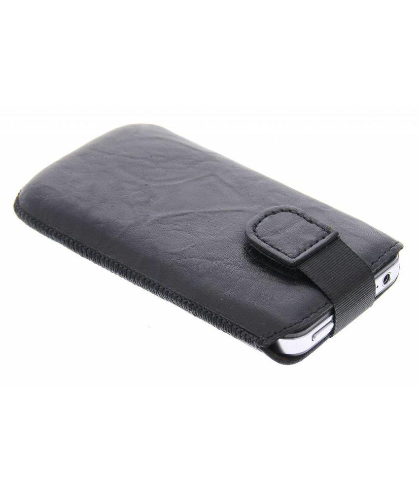 Mobiparts Uni Pouch Smoke maat L - zwart