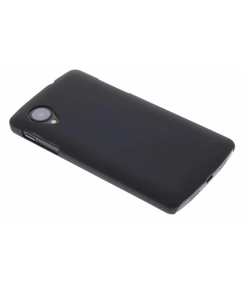 Zwart effen hardcase LG Nexus 5