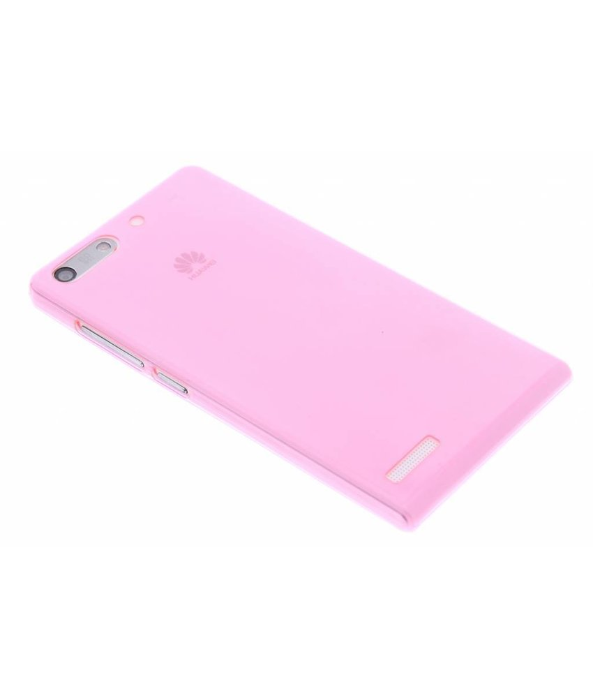 Ultra thin transparant TPU hoesje Huawei Ascend G6