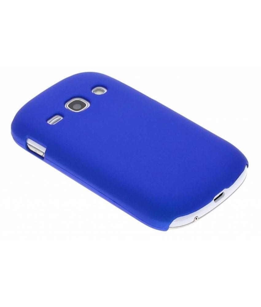 Blauw effen hardcase Samsung Galaxy Fame