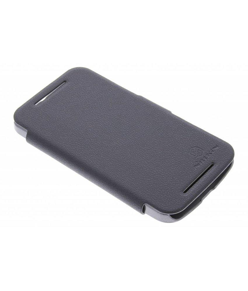 Nillkin Leather slim booktype Motorola Moto G 2nd Gen 2014
