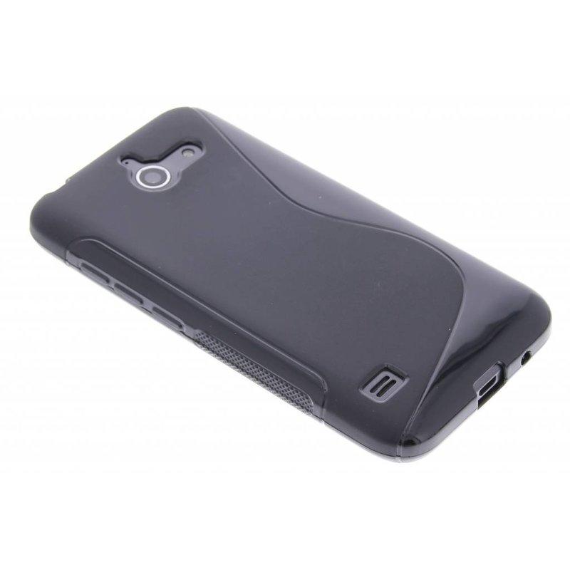 Zwart S-line TPU hoesje Huawei Ascend Y550