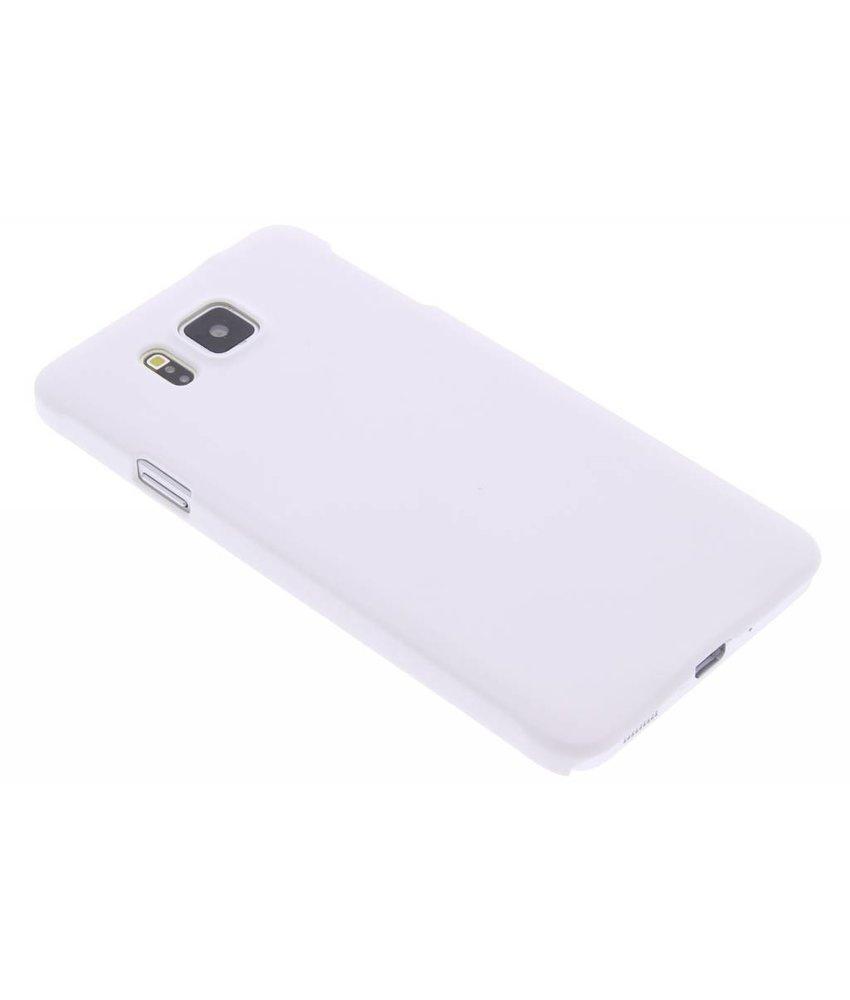 Wit effen hardcase Samsung Galaxy Alpha