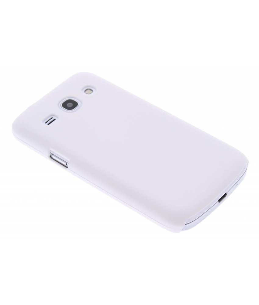 Wit effen hardcase Samsung Galaxy Core Plus