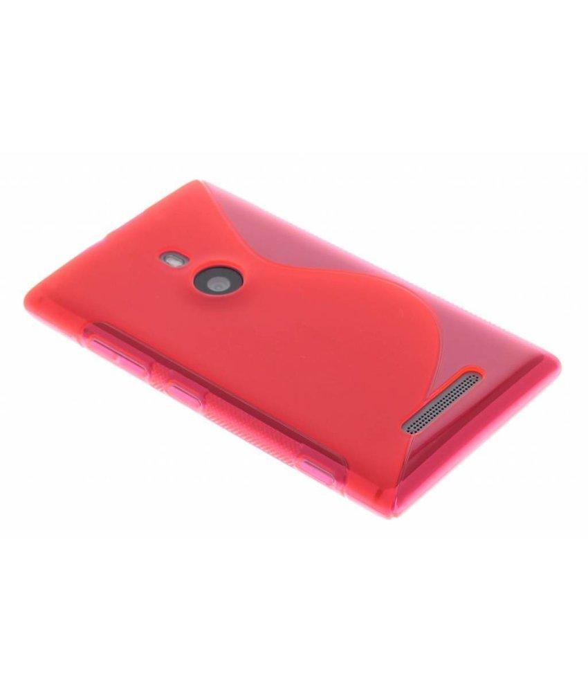 Rosé S-line TPU hoesje Nokia Lumia 925
