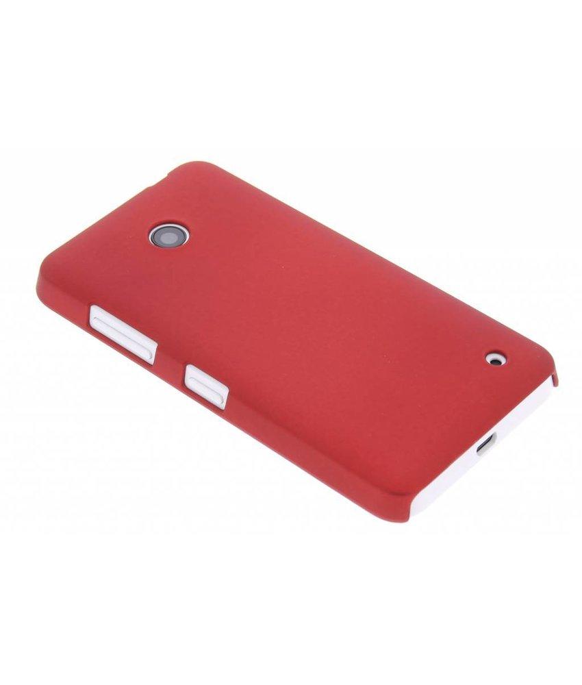 Rood effen hardcase Nokia Lumia 630 / 635