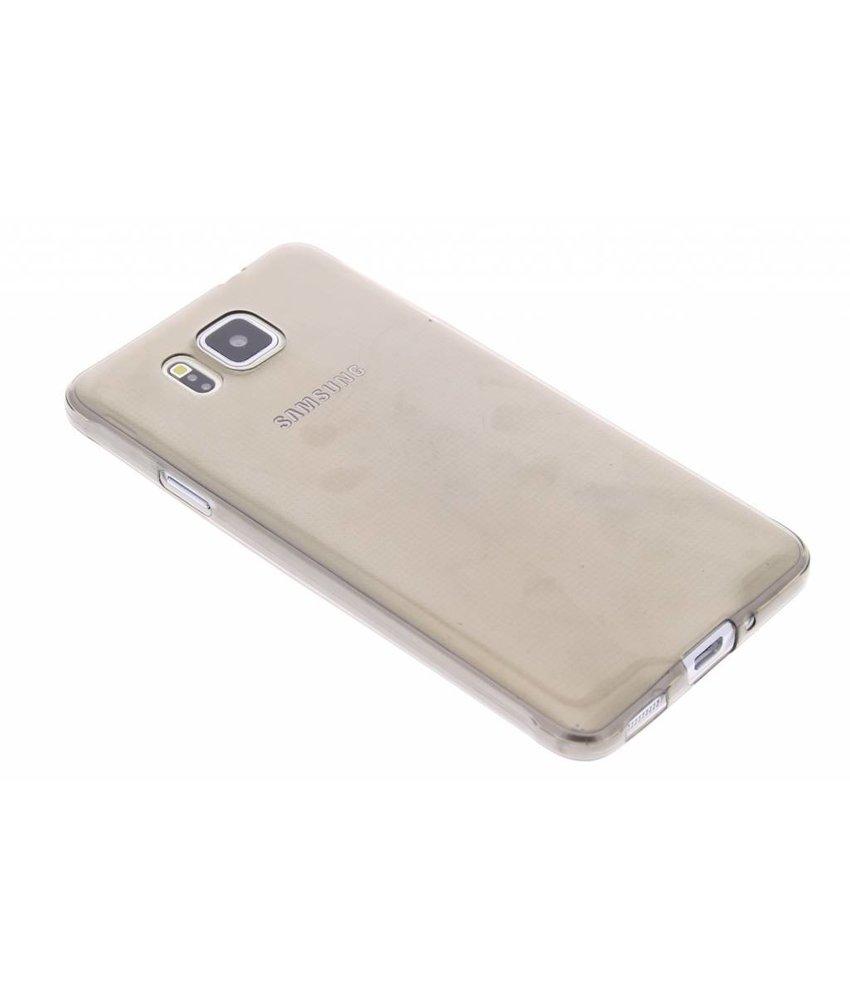 Grijs ultra thin TPU hoesje Samsung Galaxy Alpha