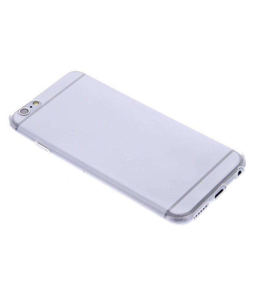 Ultra thin transparant TPU hoesje iPhone 6 / 6s