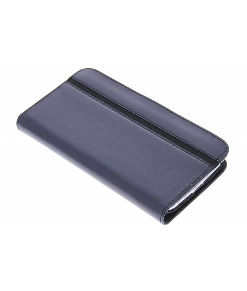 Valenta Booklet Stripe Samsung Galaxy S4 - blauw