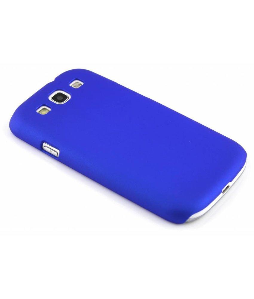 Blauw effen hardcase Samsung Galaxy S3 / Neo