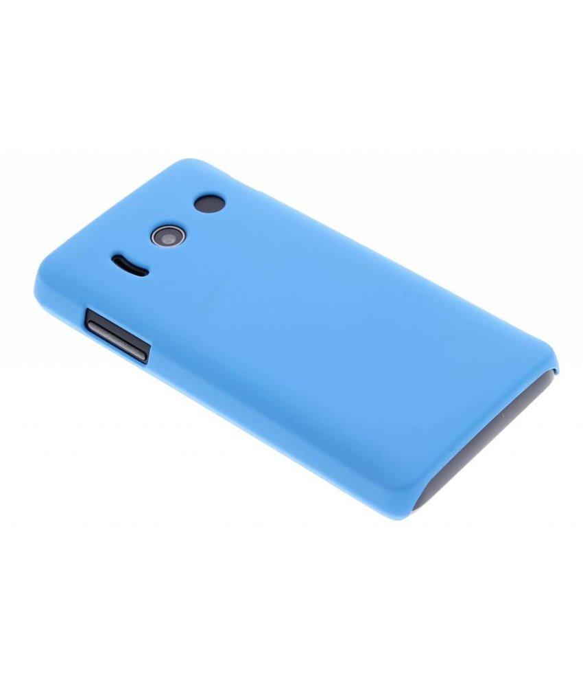 Turquoise effen hardcase hoesje Huawei Ascend Y300
