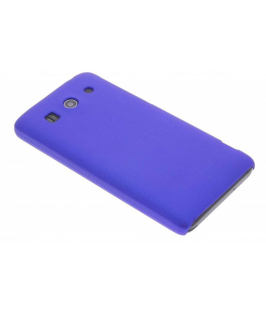 Blauw effen hardcase hoesje Huawei Ascend G525