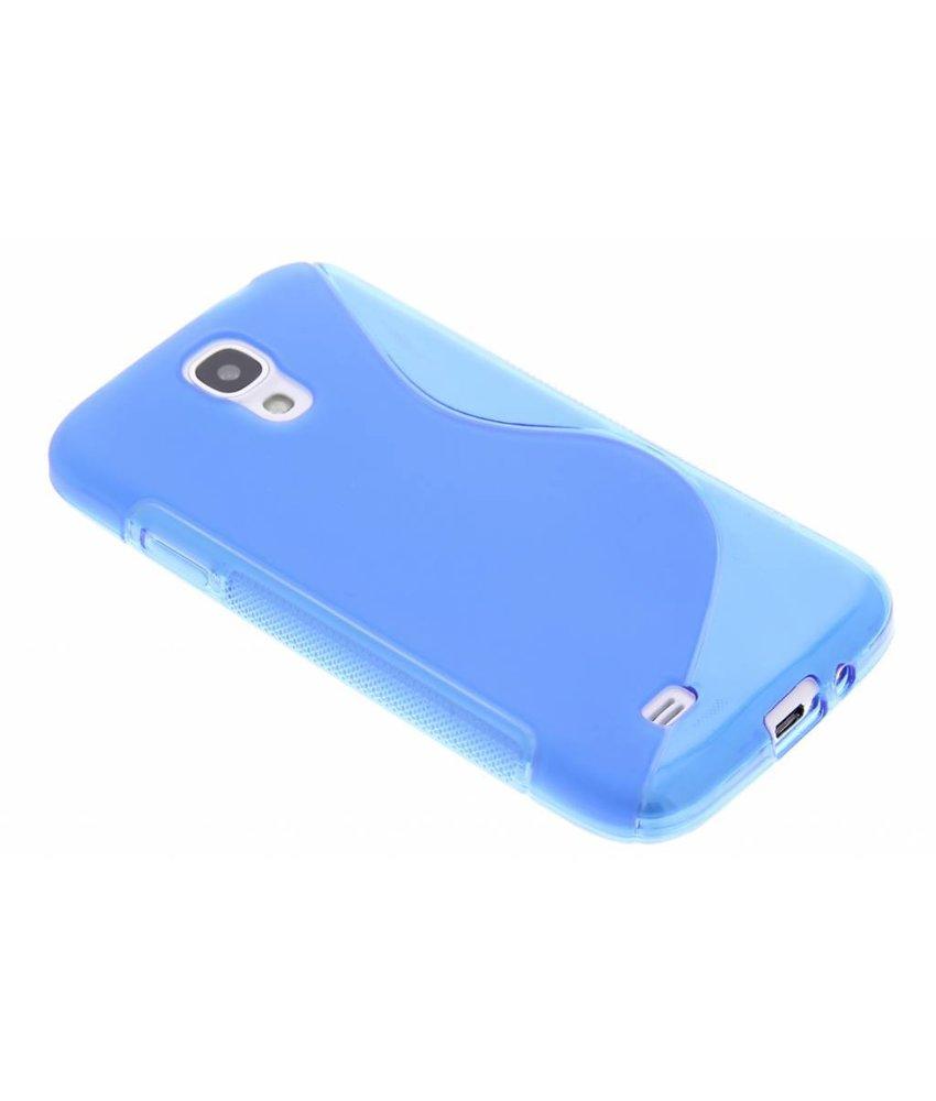 Blauw S-line TPU hoesje Samsung Galaxy S4