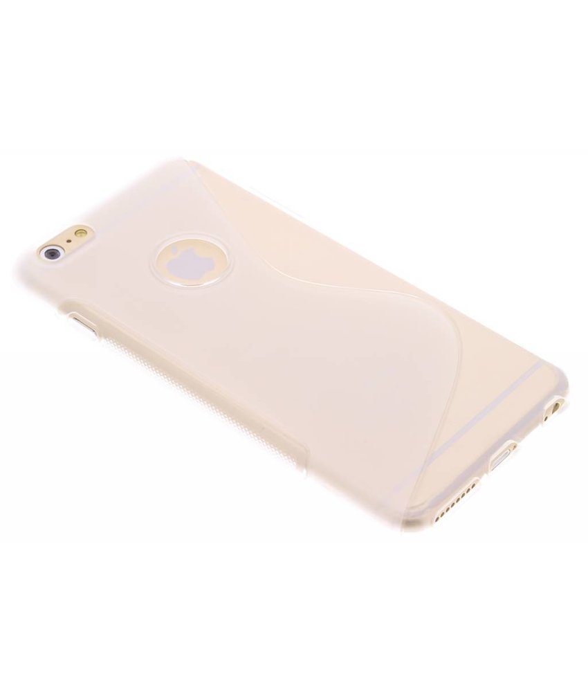 Transparant S-line TPU hoesje iPhone 6(s) Plus