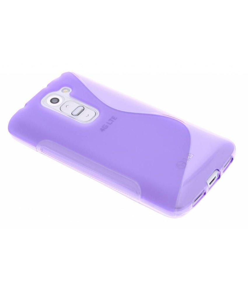 Paars S-line TPU hoesje LG G2 Mini