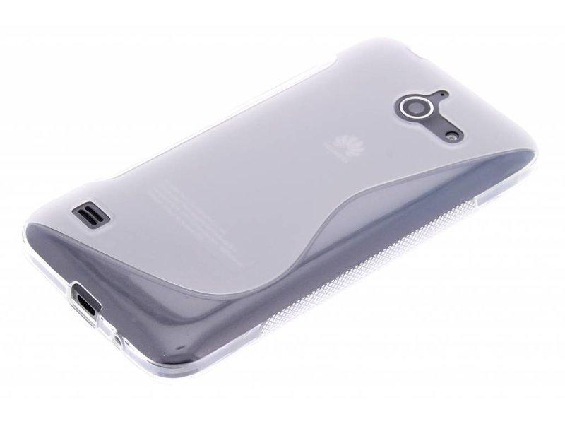 Huawei Ascend Y550 hoesje - Transparant S-line TPU hoesje