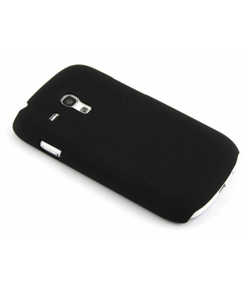 Zwart effen hardcase Samsung Galaxy S3 Mini
