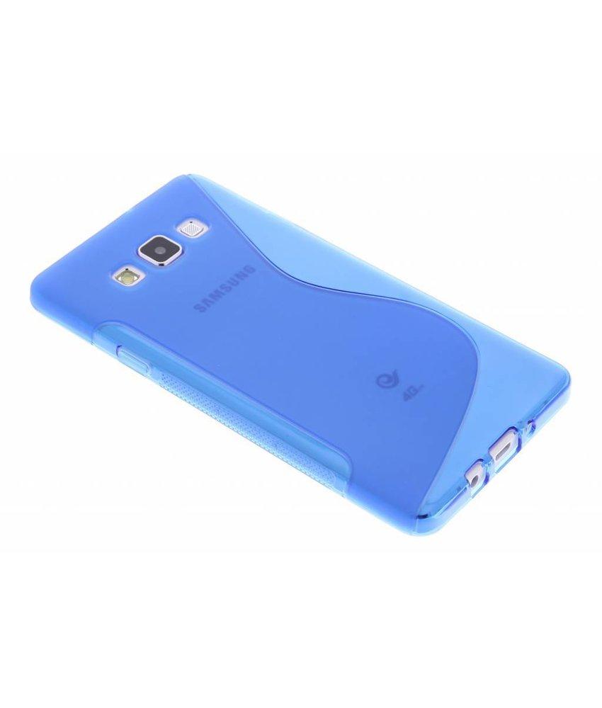 Blauw S-line TPU hoesje Samsung Galaxy A7