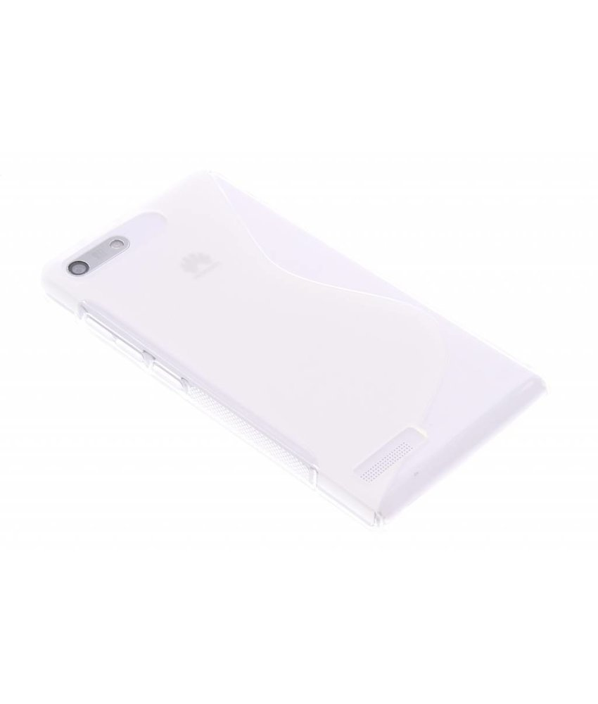 Transparant S-line TPU hoesje Huawei Ascend G6