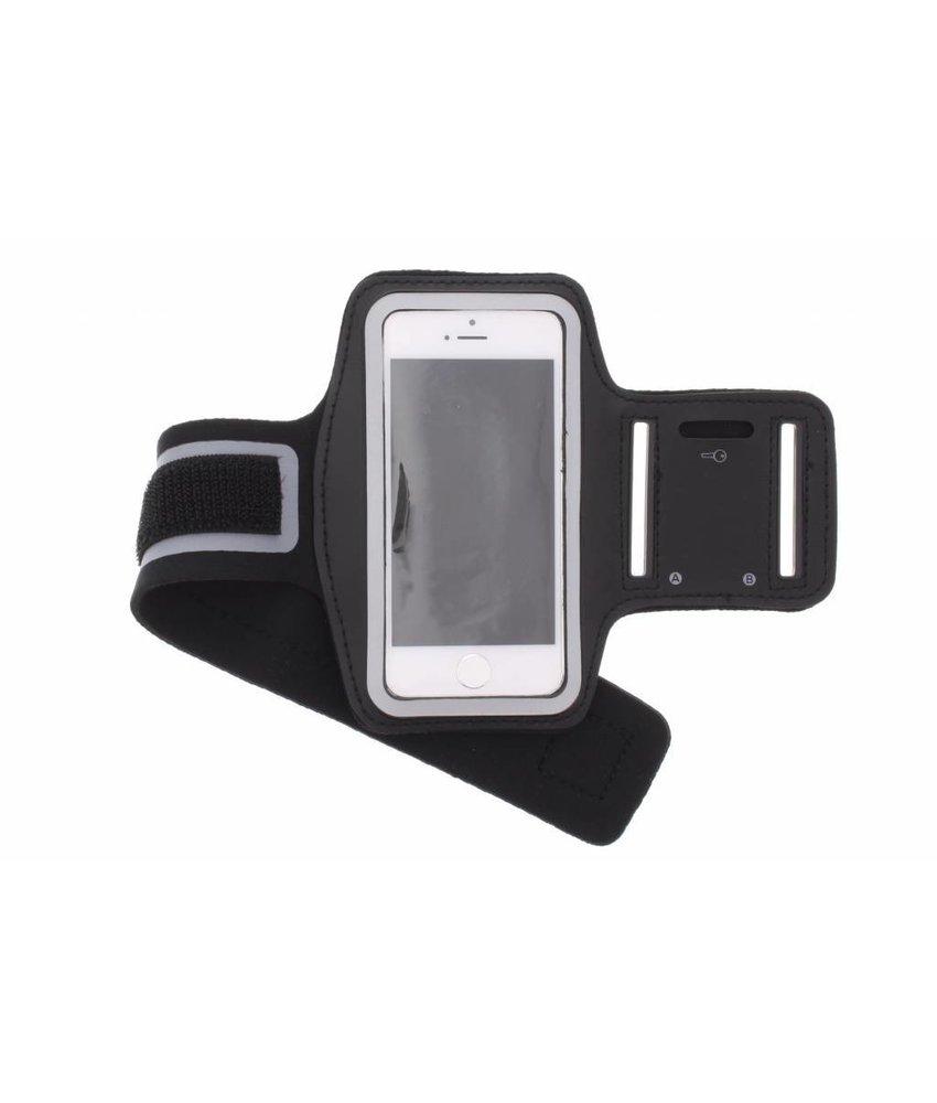 Zwart sportarmband iPhone 5s / 5c