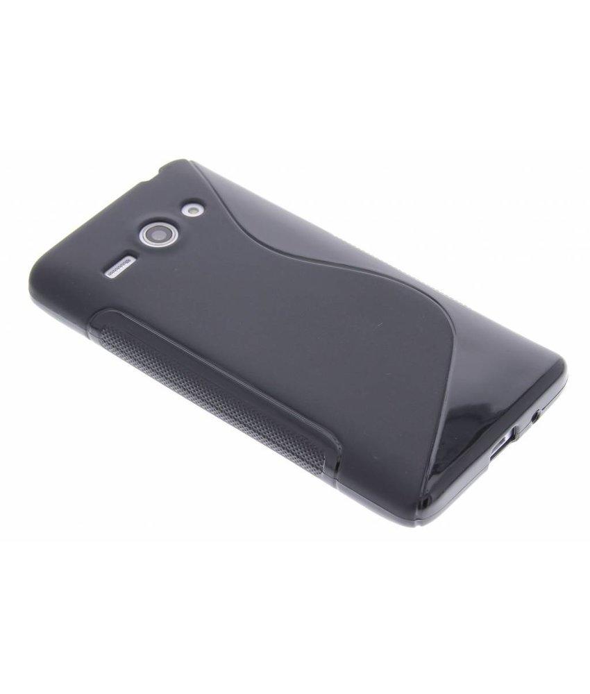 Zwart S-line TPU hoesje Huawei Ascend Y530