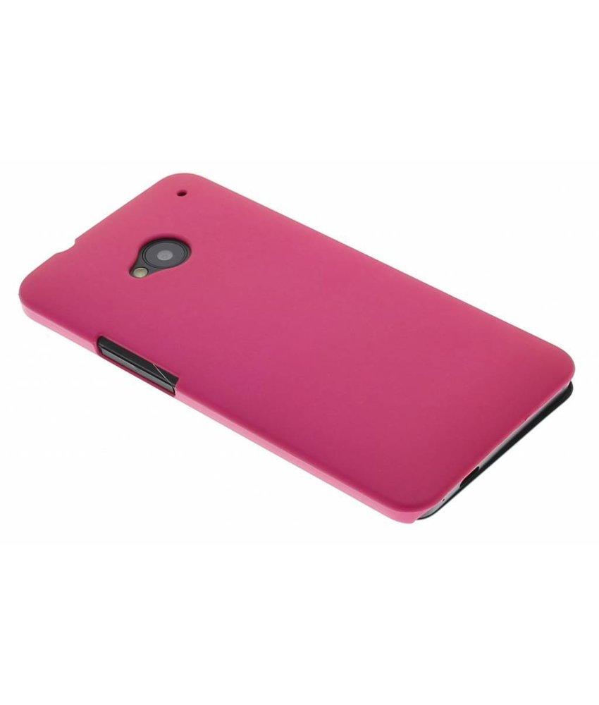 Fuchsia effen hardcase HTC One