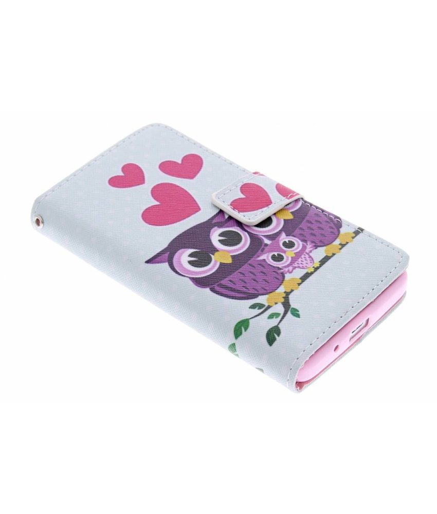 Design TPU booktype hoes Huawei Ascend Y530