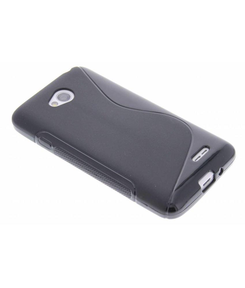Zwart S-line TPU hoesje LG L70 / L65