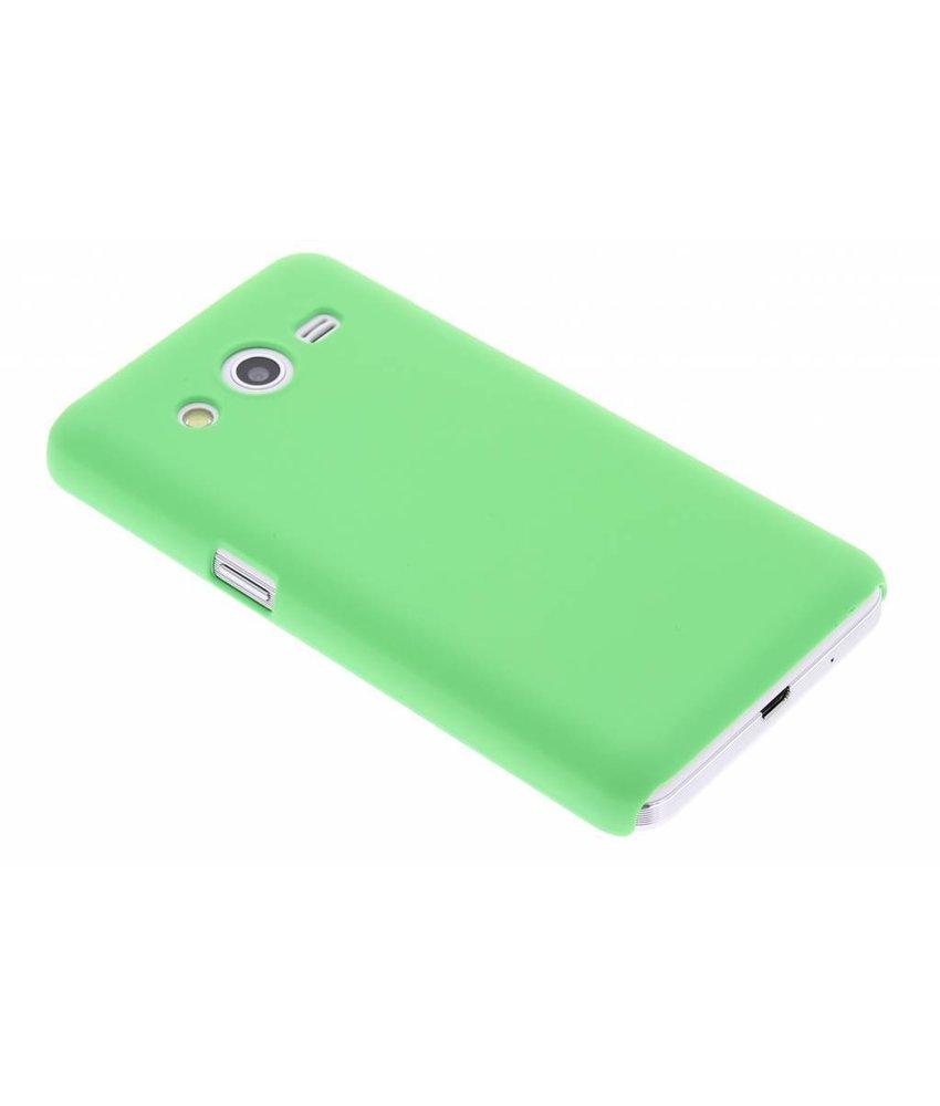 Groen effen hardcase hoesje Samsung Galaxy Core 2
