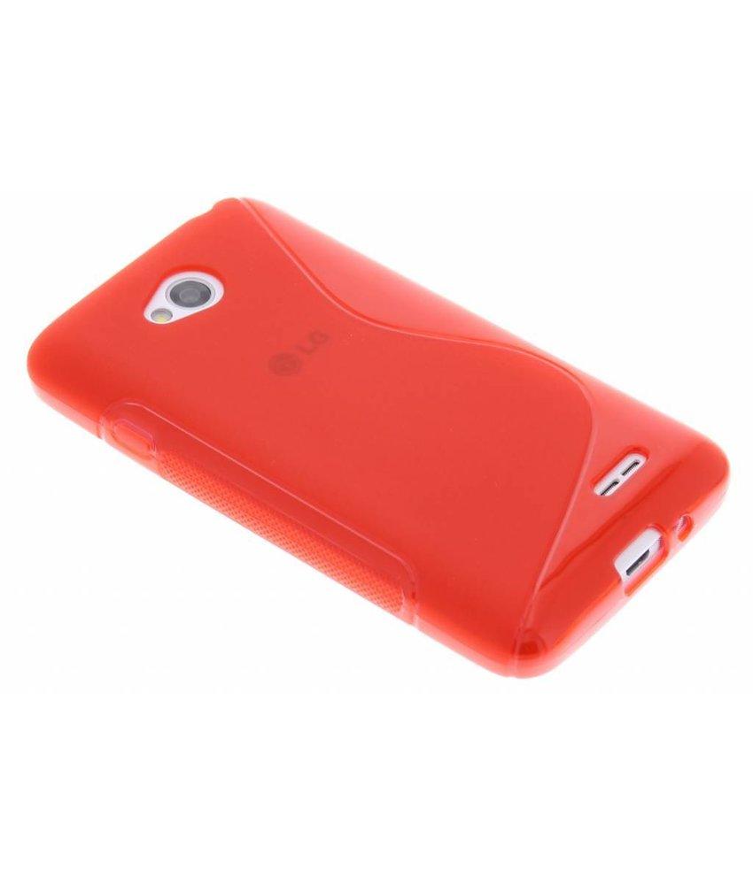 Rood S-line TPU hoesje LG L70 / L65