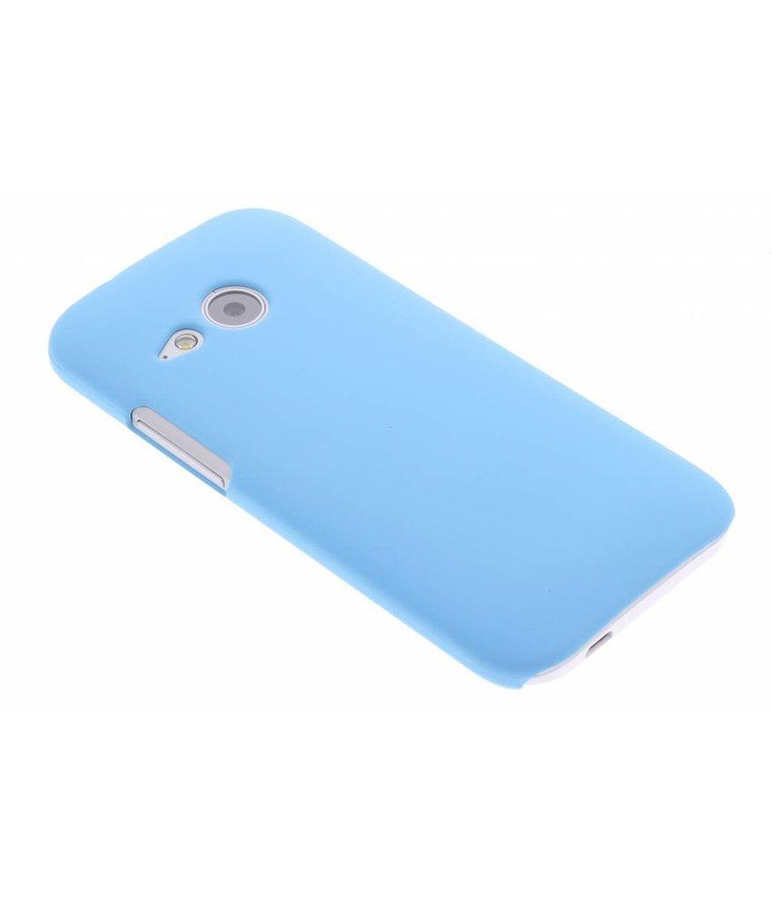 Turquoise effen hardcase HTC One Mini 2