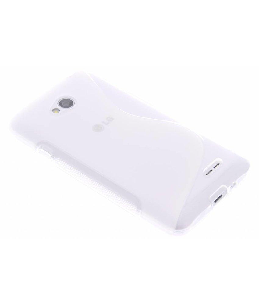 Transparant S-line TPU hoesje LG L70 / L65