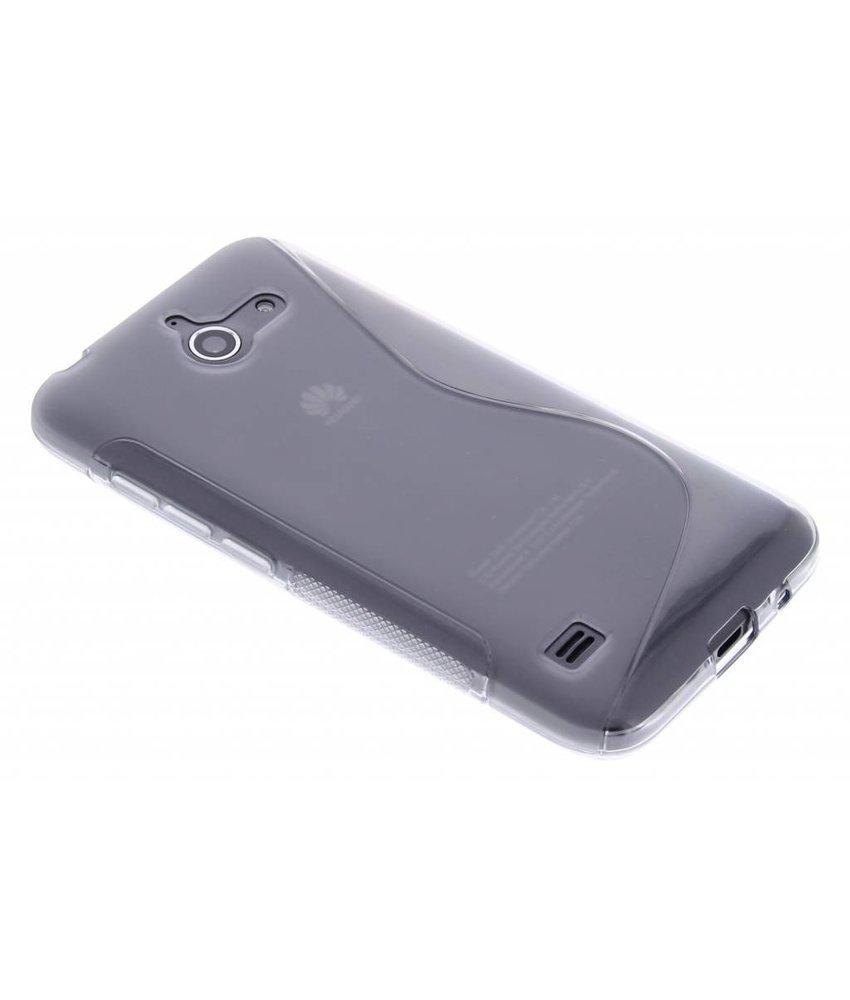 Grijs S-line TPU hoesje Huawei Ascend Y550