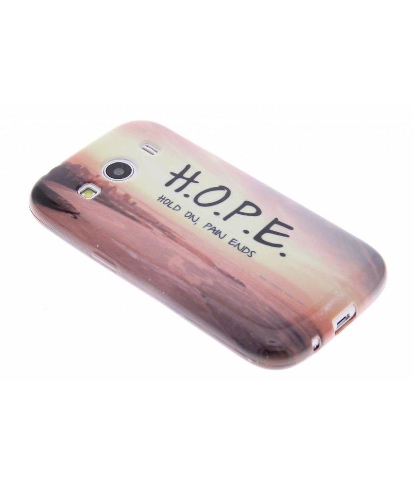 Design TPU hoesje Samsung Galaxy Ace 4
