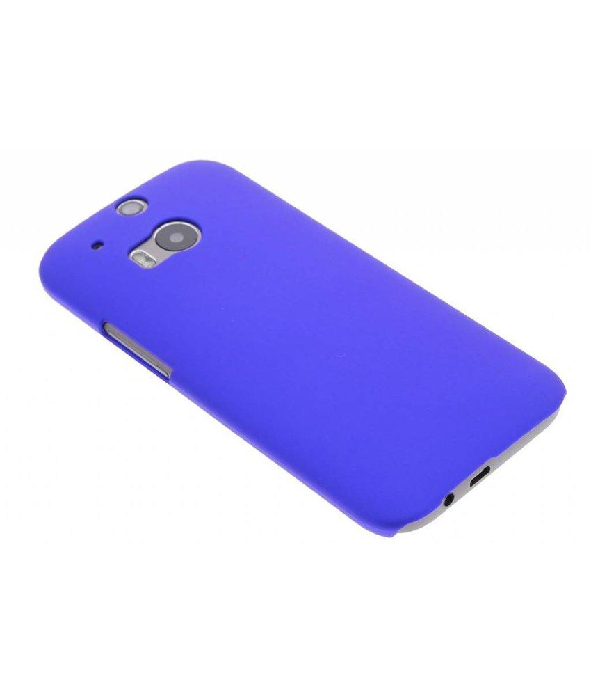 Blauw effen hardcase HTC One M8 / M8s