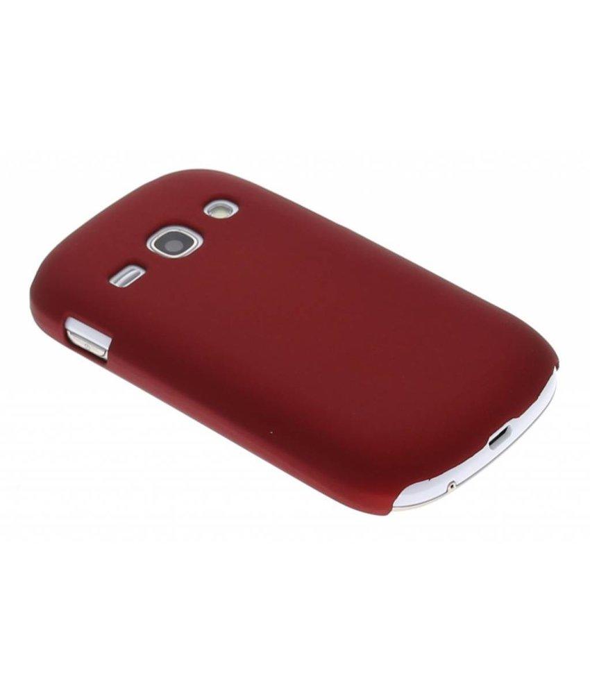 Rood effen hardcase Samsung Galaxy Fame