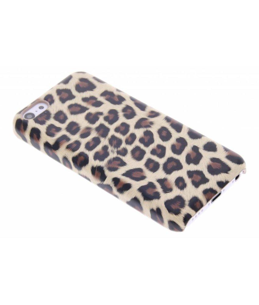 Bruin luipaard design hardcase iPhone 5c