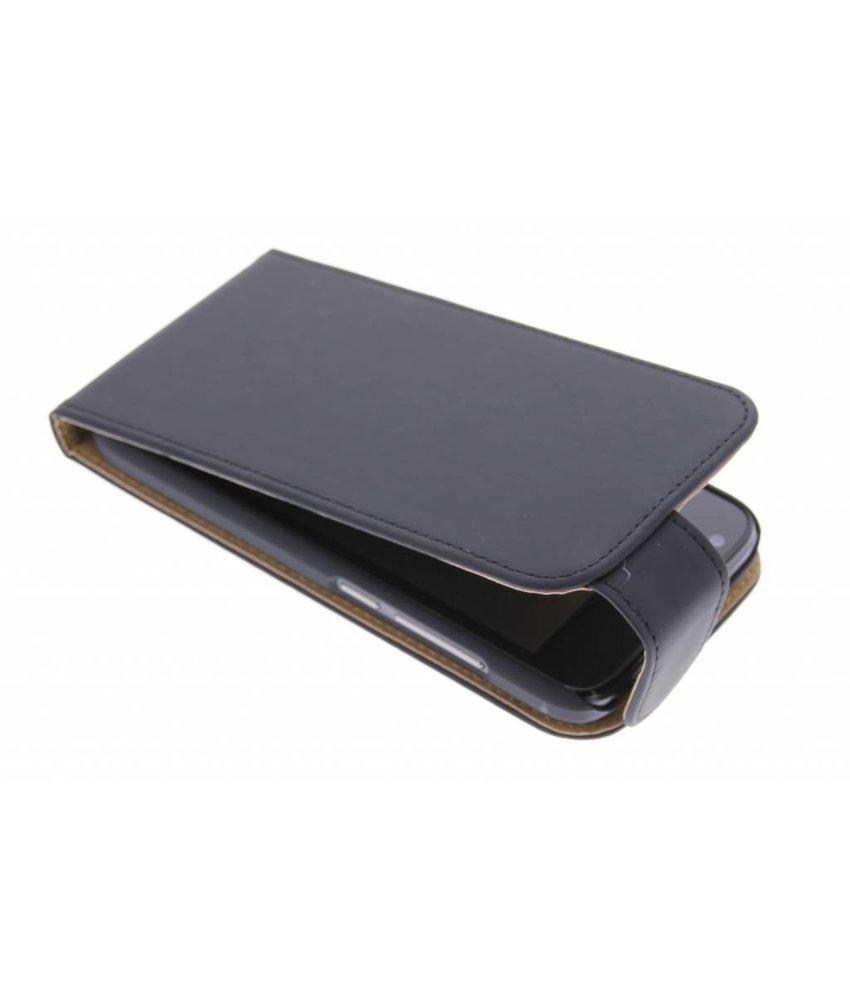 Zwart effen flipcase Huawei Ascend Y550