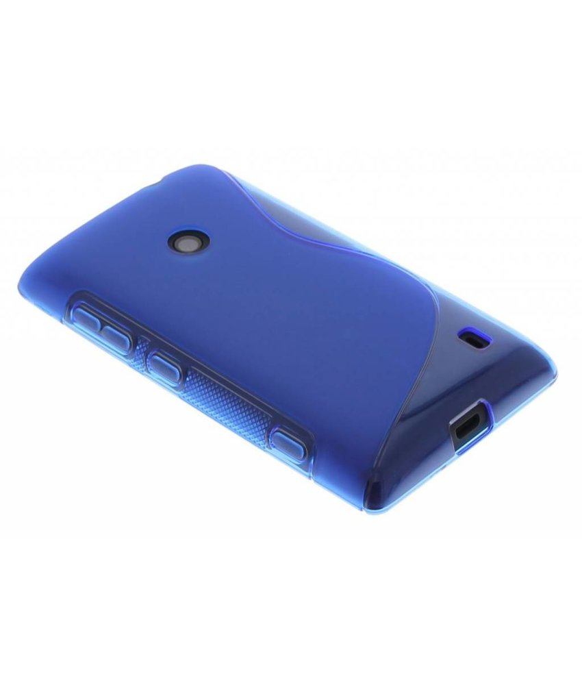 Blauw S-line TPU hoesje Nokia Lumia 520