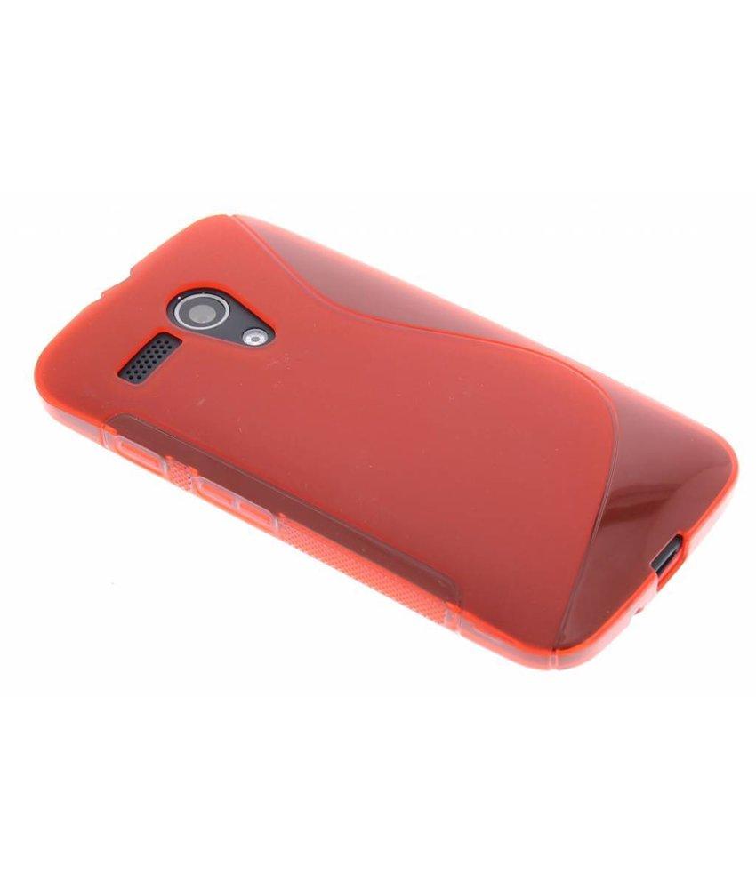 Rood S-line TPU hoesje Motorola Moto G