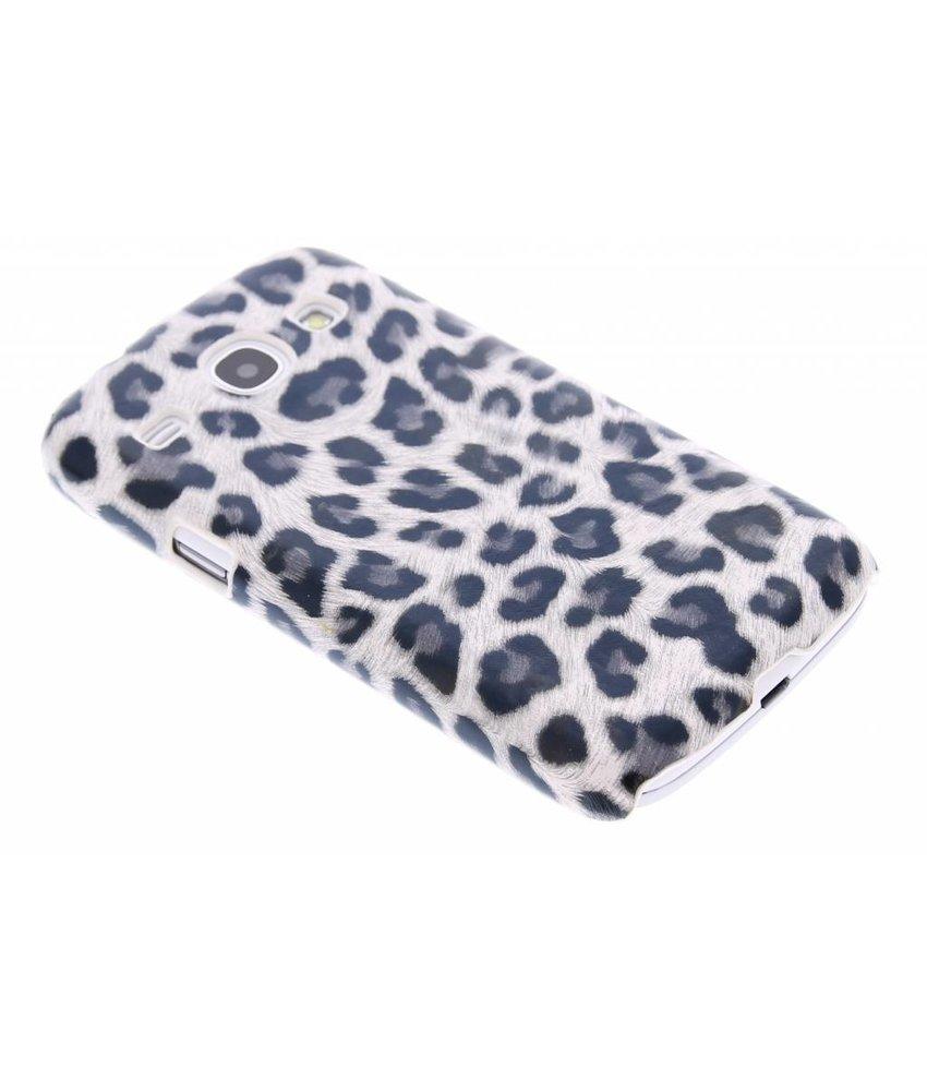 Grijs luipaard hardcase Samsung Galaxy Core