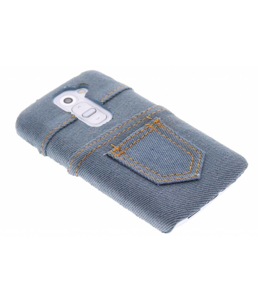 Denim jeans hardcase hoesje LG G2 Mini
