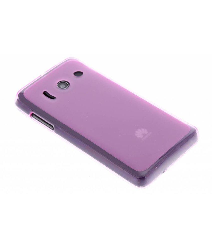 Roze hard siliconen hoesje Huawei Ascend Y300